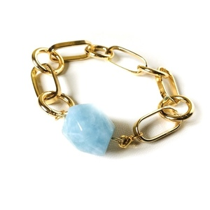 Light blue Agate bracelet