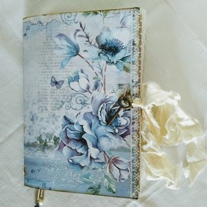 Journal book blue