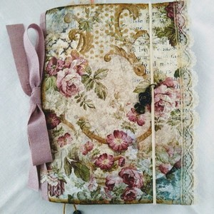 Journal book roses