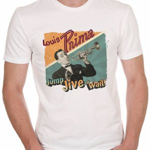 Louis Prima Rockabilly, Swing, Dance, rock n roll, retro tshirt