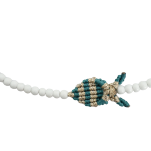 Fish Choker with Beads