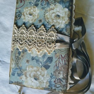 Journal book lace