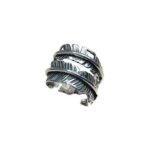Feather Silver 925 Ring