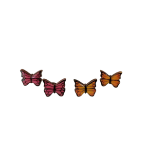 "Stud earrings ""Mini Butterfly""."