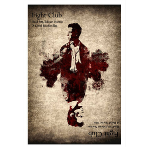 fight club, poster, αφίσα, puzzle, t-shirt