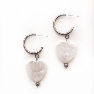 Heart earrings 2