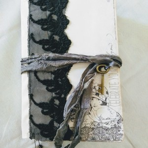 Journal book black lace
