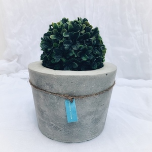 concrete pot medium