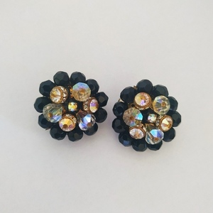Vintage clip earrings