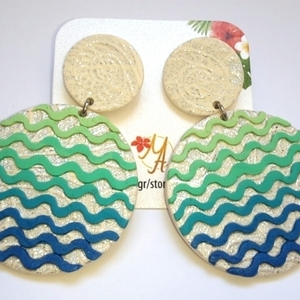 Polymer Clay Dangle Earrings
