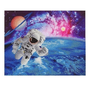 "Πίνακας Diamond Painting ""Astronaut"""