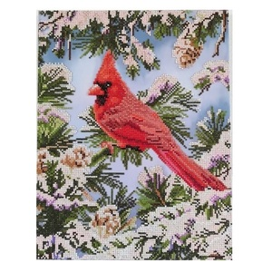 "Πίνακας Diamond Painting ""Cardinal"""