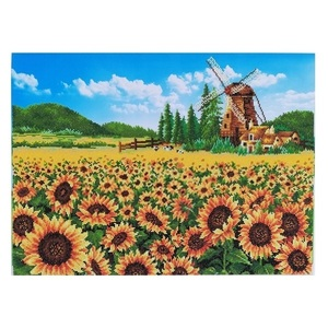 "Πίνακας Diamond Painting ""Sunflower field"""