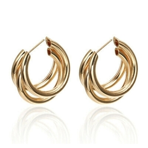 Gold hoops!