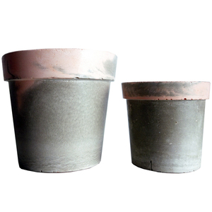 "Σετ "" traditional pots "" grey - somon"