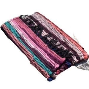 Boho purse happy purple