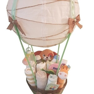 Diaper Cake (Diaper Unisex Air Balloon)