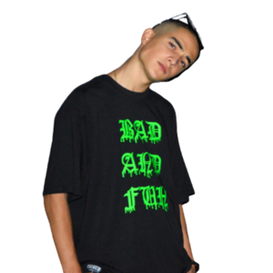 Neon Green Bad and Fun T-Shirt