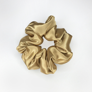 *Champagne Gold* medium satin scrunchie