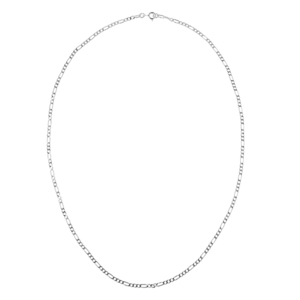 Figaro Silver Chain Necklace