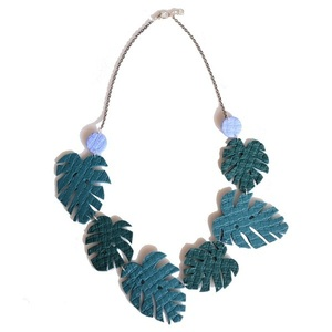 """MONSTERA"" necklace"